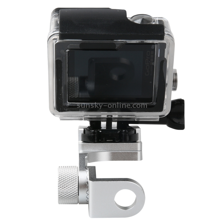Wyanlin Motorcycle Rearview Mirror CNC Aluminum Alloy Stent Fixed Bracket Holder for GoPro New Hero //HERO6 // 5//5 Session //4//3+ //3//2 //1 Wyanlin SJCAM Camera Xiaomi Xiaoyi Black Color : Red