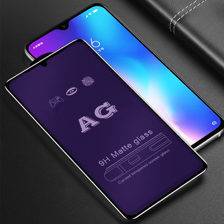Dongdexiu Mobile Phone Accessories 25 PCS AG Matte Anti Blue Light Full Cover Tempered Glass for Xiaomi Mi 6X A2 Tempered Glass Film