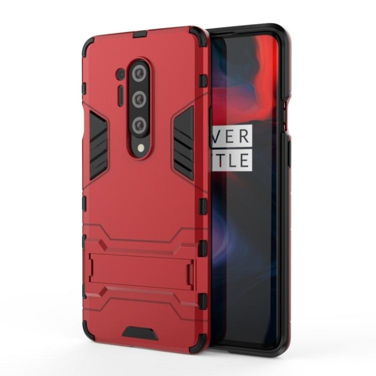 Ανθεκτική Θήκη με stand For OnePlus 8 Pro (Red)