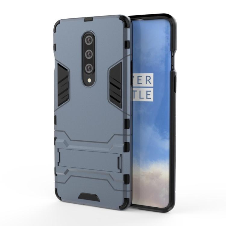 Ανθεκτική Θήκη με stand For OnePlus 8 (Navy Blue)