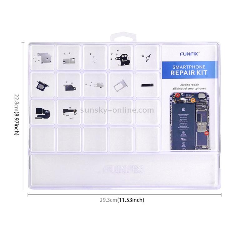Repair-Kits JF-8163 7 in 1 Battery Repair Tool Set for iPhone 6s Plus