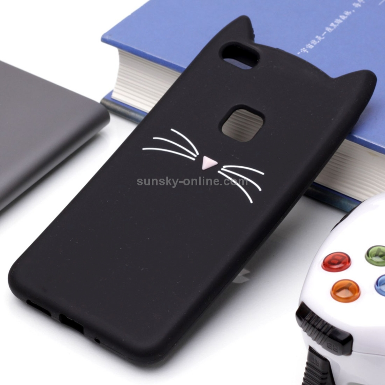 SUNSKY - For Huawei P10 Lite Silicone Cat Whiskers Pattern ...