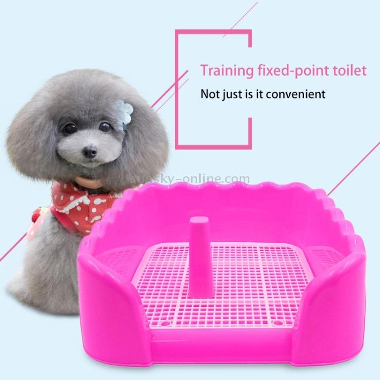 SUNSKY - Wave Style Indoor Pet Training Tray Toilet Pad Pet Potty