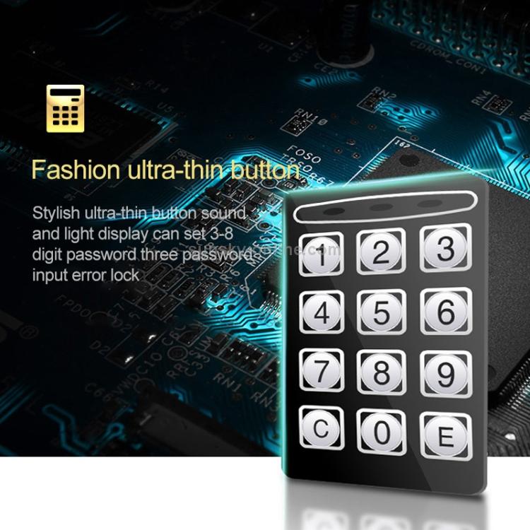 SUNSKY - 17E Home Mini Electronic Security Lock Box Wall Cabinet