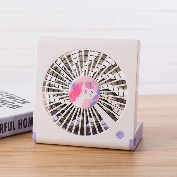 Simple Style Mini//Notebook Folding USB Fan with Wind 3 Speeds,for Air Cooler Portable Electric Fan Color : Pink