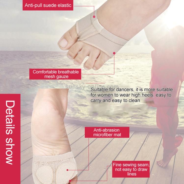 Latest Dance Toe Pad Antiskid Dancing Foot Cover Socks For Belly Ballet Dancer