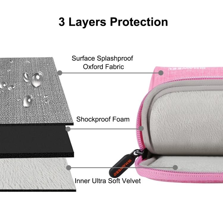 MongKok 1 Pcs Fishing Reel Gear Bag Storage Case Oxford Cloth Dual Zipper for Outdoor