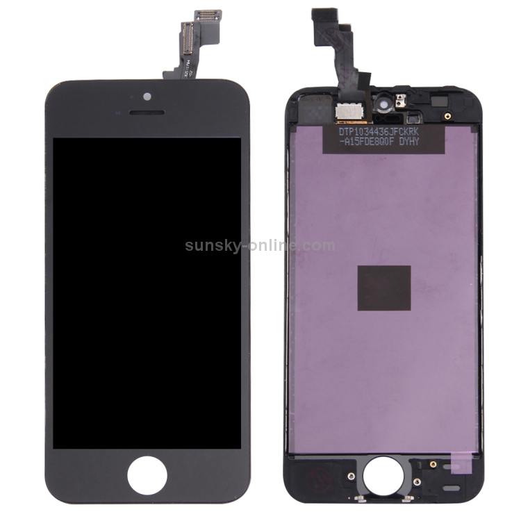 the original iphone sunsky 5pcs black 5 pcs white lcd screen and digitizer 13101