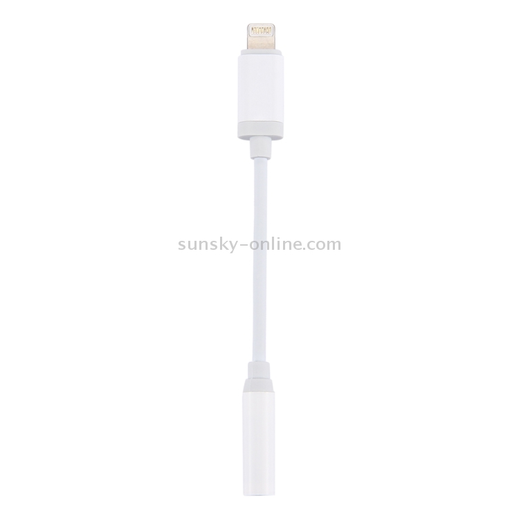 Фото 8 Pin Male to 3.5mm Audio Female Adapter Cable, Support iOS 10.3.1 or Above Phones, For iPhone X / iPhone 8 & 8 Plus / iPhone 7 & 7 Plus. Купить в РФ