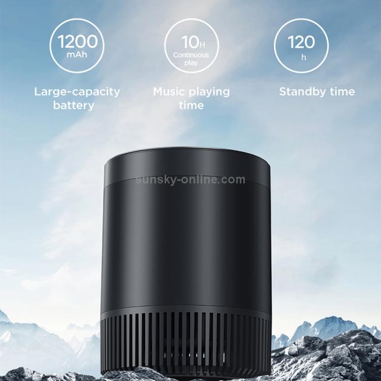 SUNSKY - JOYROOM JR-M09 TWS Bluetooth 5.0 Mini Bluetooth Speaker (สีเขียว)