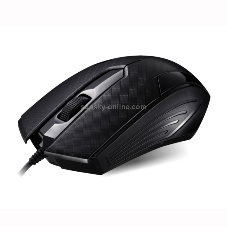 Black 129 USB Universal Wired Optical Gaming Mouse with Counter Weight Durable Length: 1.3m Color : Black