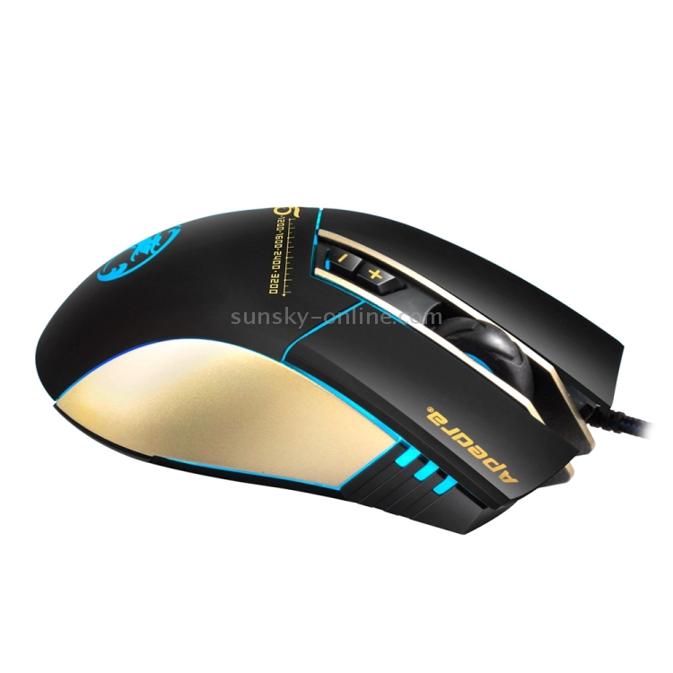 apedra a8 gaming mouse how to change color