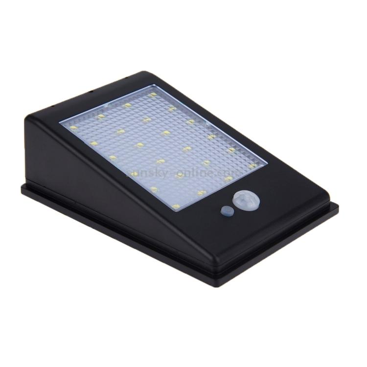 Sunsky 3 2v 2 8w 24 Led White Light Outdoor Solar Motion