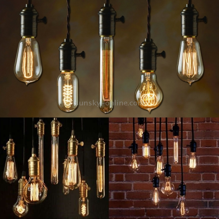 Buy Incandescent Bulb E27 40w Ac 110v T45 Tungsten: 4 PCS YouOKLight 0818 E27 40W 400 LM Fireworks