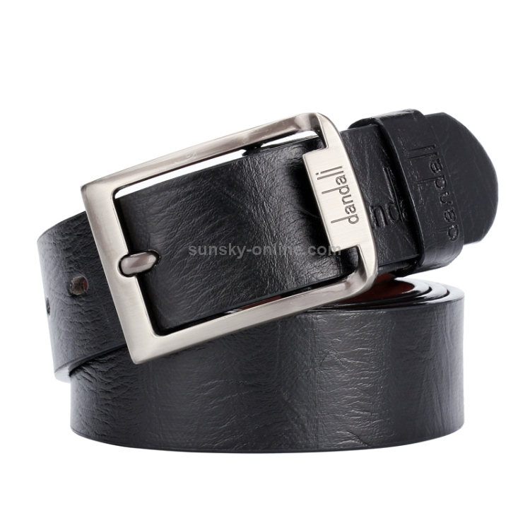 Business Automatic Casual Belt Formal Waistband Glossy Buckle Leather Belt Newly