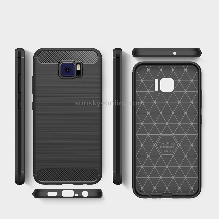 SUNSKY - For ASUS ZenFone V V520KL Brushed Texture Carbon