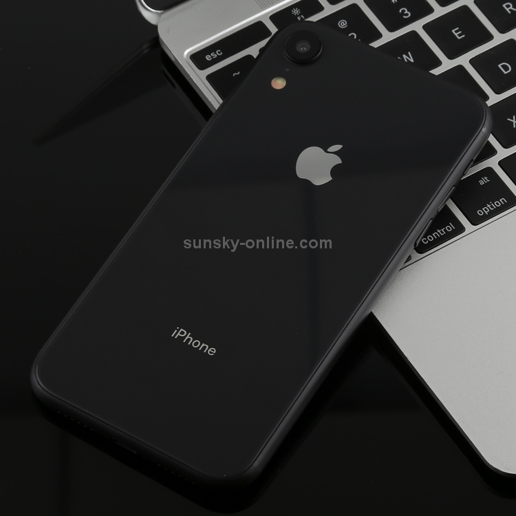 Color Screen Non-Working Fake Dummy Display Model for iPhone XR (Black)