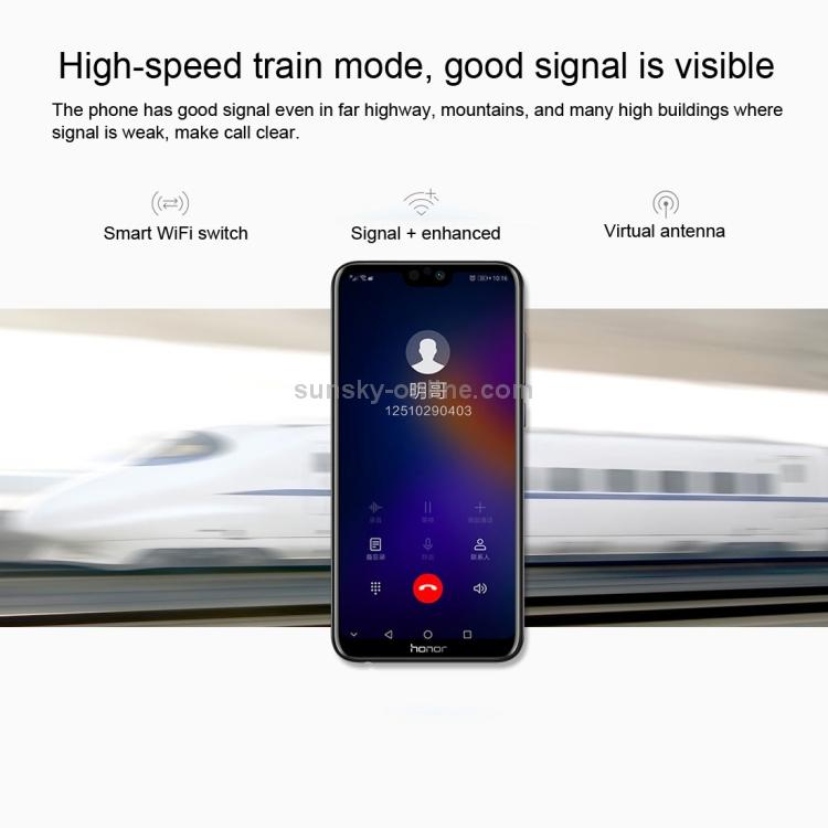 SUNSKY - Huawei Honor 9i / 9N LLD-AL20, 4GB+64GB,China Version