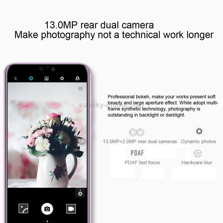 SUNSKY - Huawei Honor 9i / 9N LLD-AL30, 4GB+128GB,China Version