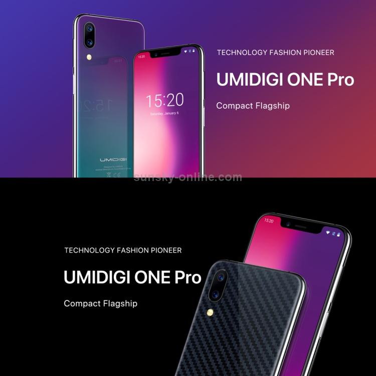 UMIDIGI One Pro, 4GB+64GB, Global Band Dual 4G, 5 9 inch