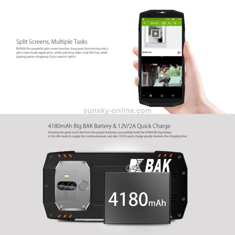 SUNSKY - [HK Stock] Blackview BV9000 Pro, 6GB+128GB