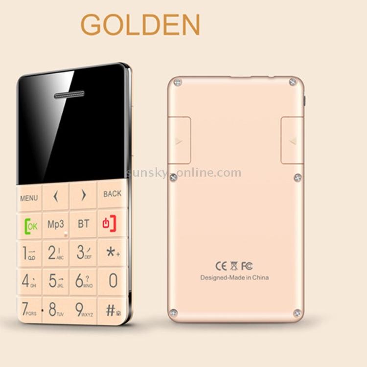 SUNSKY - AEKU Qmart Q5 Card Mobile Phone, Network: 2G