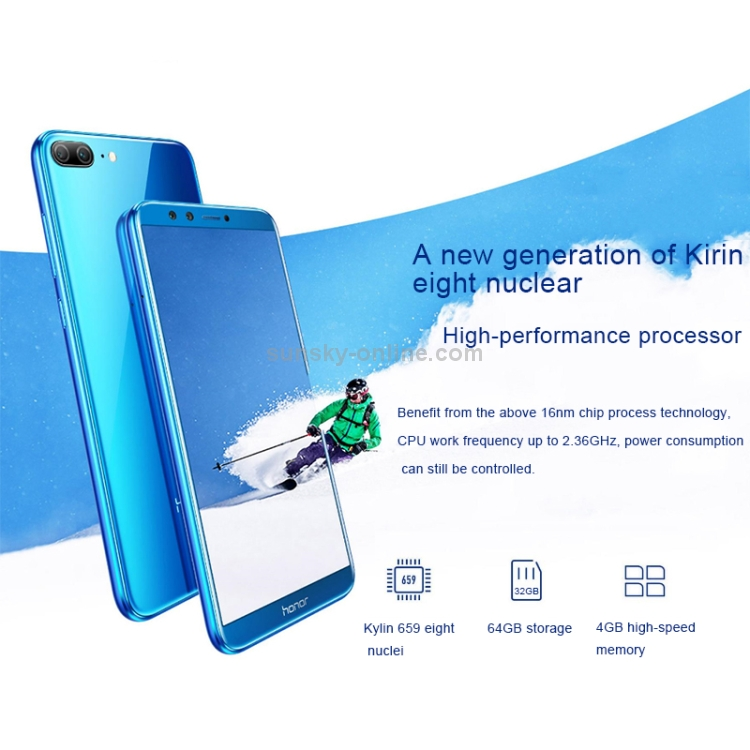 SUNSKY - Huawei Honor 9 Lite LLD-AL10, 4GB+64GB, China Version