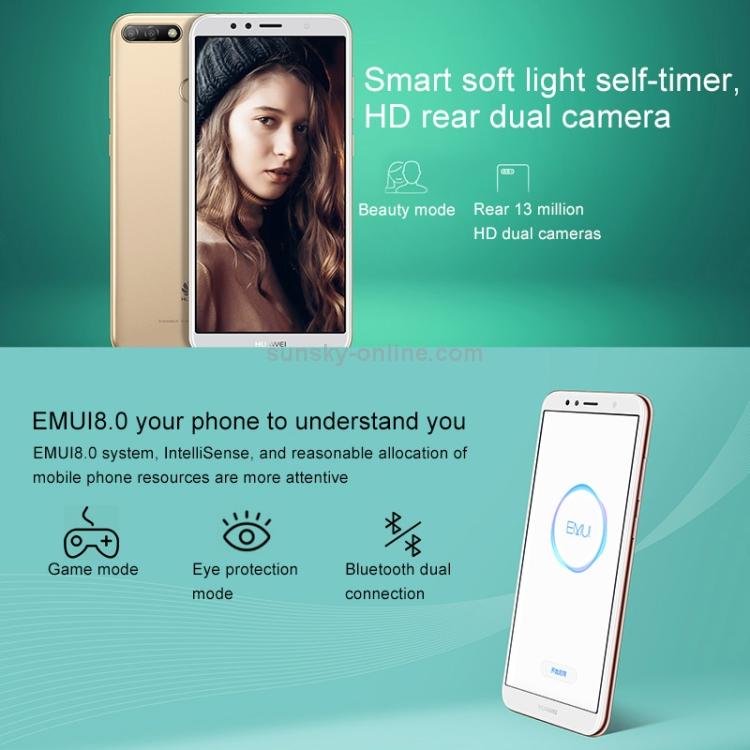 SUNSKY - Huawei Enjoy 8e ATU-AL10, 3GB+32GB, Not Support Google Play