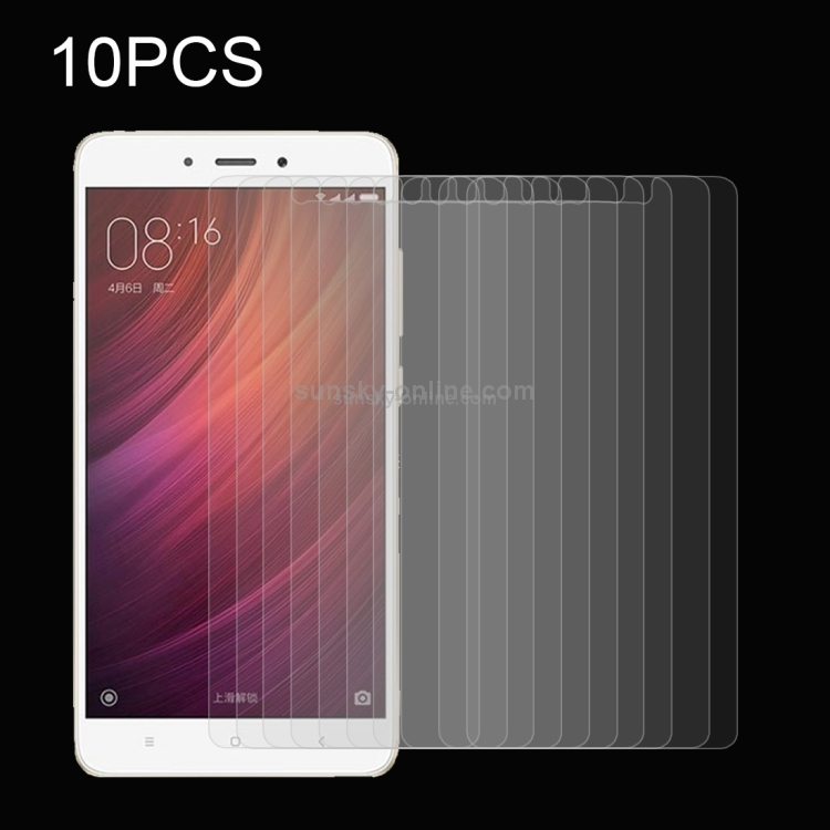 Screen Protector Film 100 PCS for Xiaomi Redmi Note 4X 0.26mm 9H Surface Hardness Explosion-Proof Tempered Glass Screen Film Tempered Glass Film