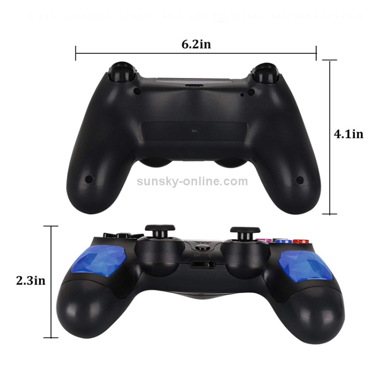 SUNSKY - Bluetooth Wireless Game Controller Handle Double