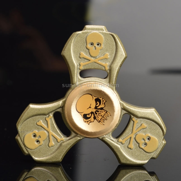 Skull Fidget Anti Anxiety 360 metal Spinner