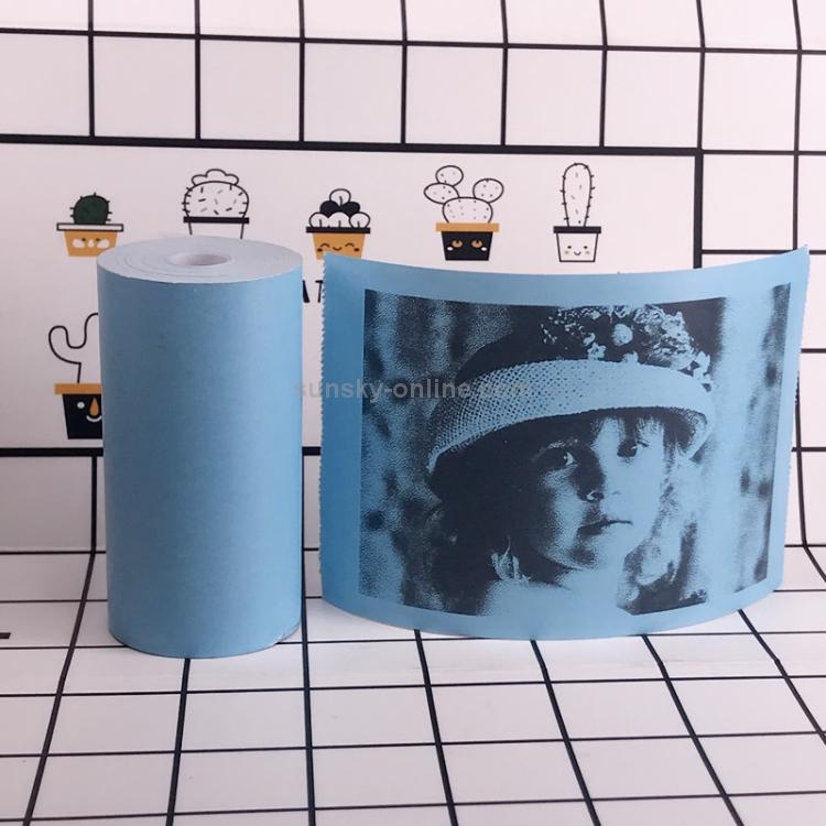 SUNSKY - 10 PCS Thermal Label Printer Paper Sticker for