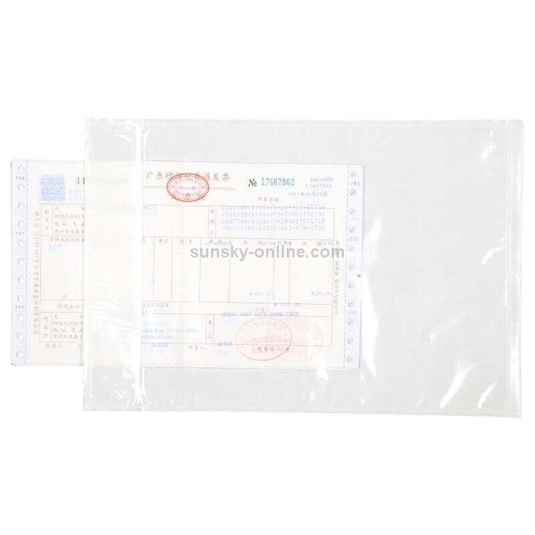 Packing Supplies 18cm x 27cm PE Waterproof Self Sealing Bag Self-Adhesive Bag Long Side Open 100 PCS Label Tape
