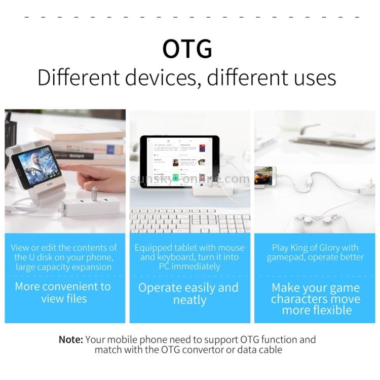 SUNSKY - ORICO W5P-U3-100 4-Port USB 3 0 Desktop HUB with