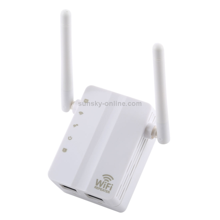 300Mbps 802.11 Wifi Repeater Wireless-N AP Signal Extender Booster EU Plug Props