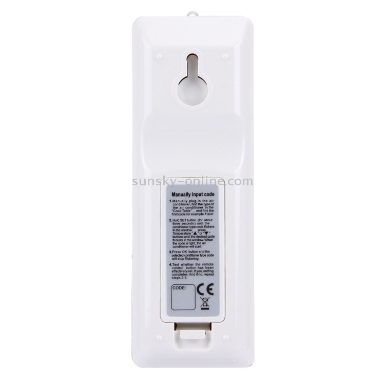 SUNSKY - CHUNGHOP K-1018E 1000 in 1 Universal Air-Conditioner Remote
