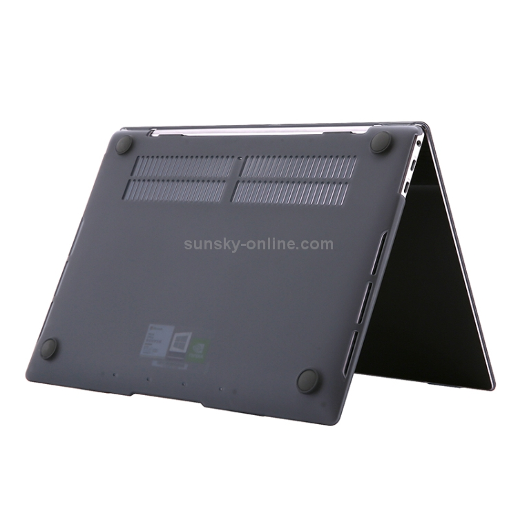 for Huawei MateBook X Pro Shockproof Crystal Laptop Protective Case Premium Material Color : Black