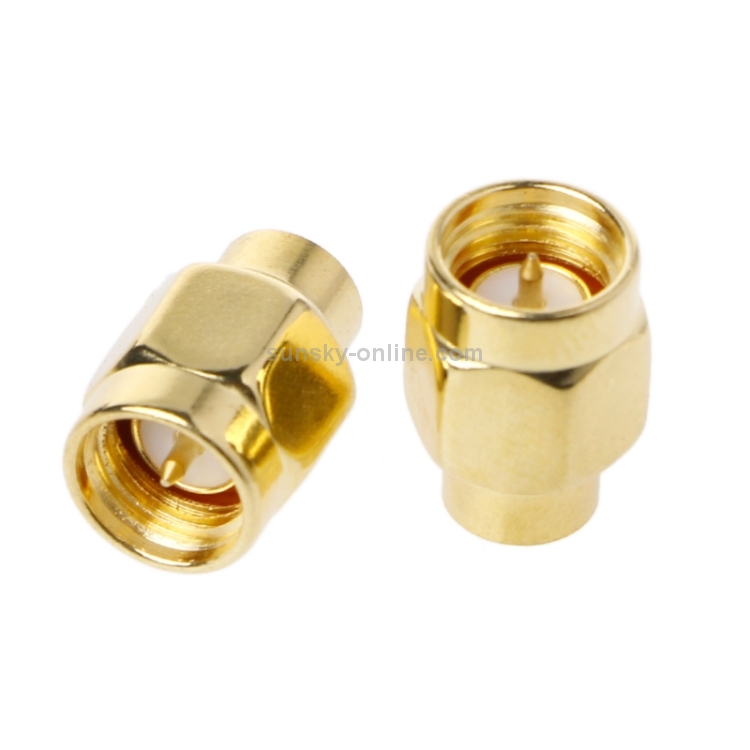 2Pcs BNC Male Resistor RF Coaxial Terminator Load Impedance 50 ohm Connector T2
