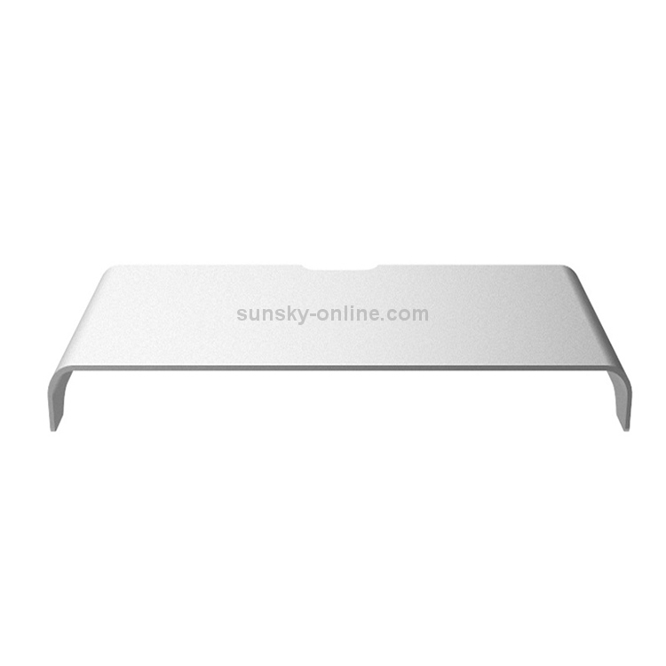 Universal Aluminum Alloy Single-Layer Laptop Stand with Storage Function Size 50 x 22 x 6cm Thickness 5mm Durable