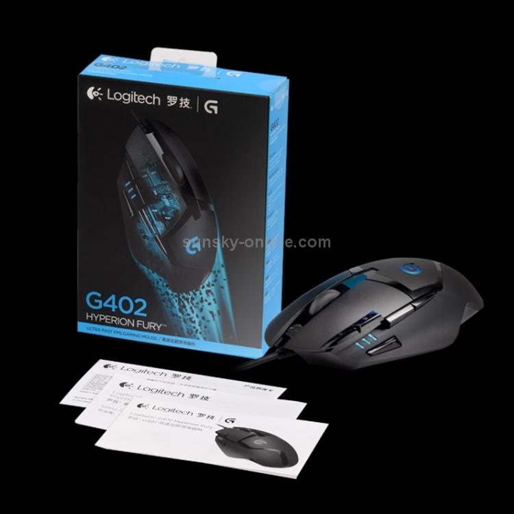 SUNSKY - Logitech G402 USB Interface 8-keys 4000DPI Five-speed