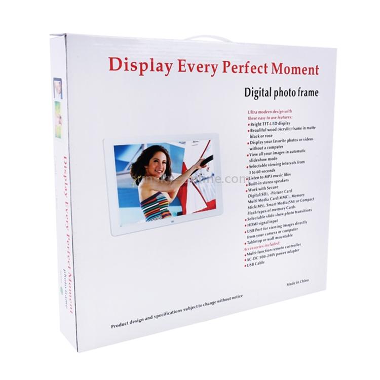 SUNSKY - 15.0 inch LED Display Digital Photo Frame with Holder ...