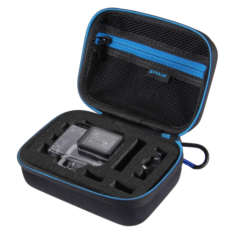 12 in 1 Surfing Accessories Combo Kits with Small EVA Case for GoPro HERO6//5 Diving Case + Silicone Case + Lens HD Screen Protector + LCD Display Tempered Glass Film + Anti-Fog Inserts+ Clean Cloth