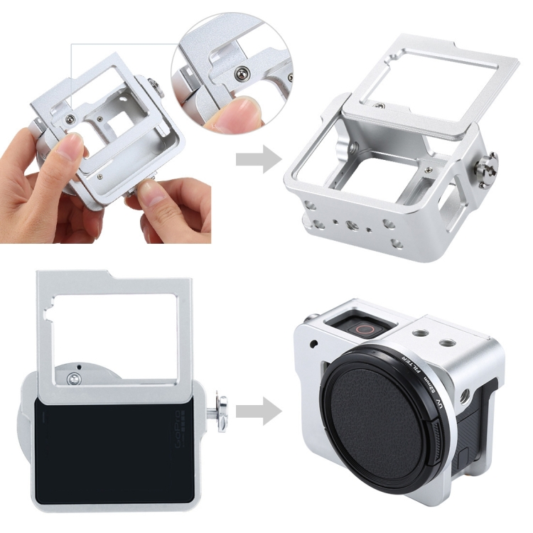 Camera/video Bags Capable Plastic Hard Protector Cover Protective Lens Cap Case For Gopro Go Pro Hero 5/6 Hero5 Hero6 Black Action Camera Sport Accessory