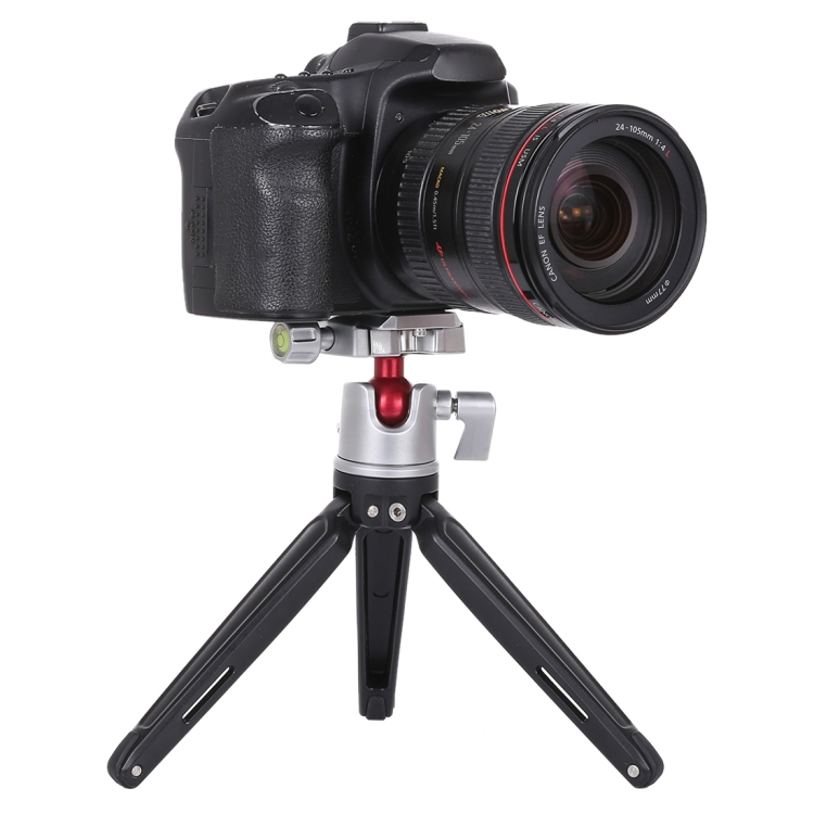 Durable Color : Black Black CAOMING Mini 360 Degree Rotation Panoramic Metal Ball Head for DSLR /& Digital Cameras