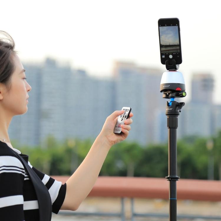 SUNSKY - PULUZ Electronic 360 Degree Rotation Panoramic Head + ...