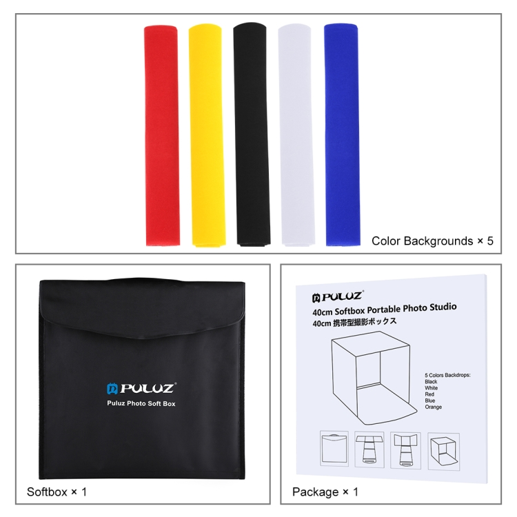 Image result for puluz photo softbox 40cm