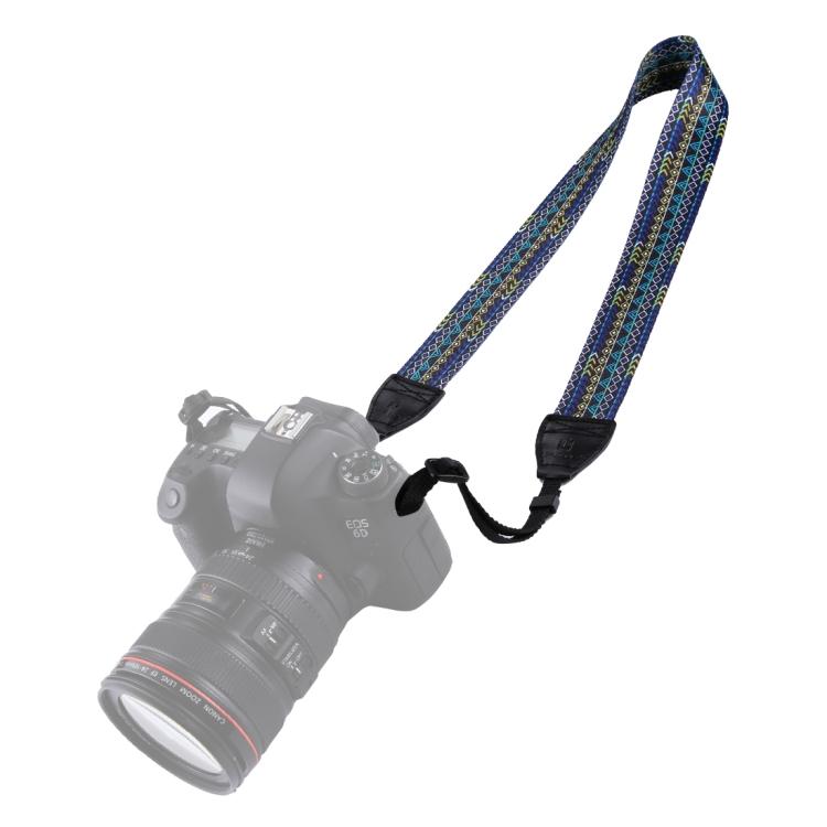 Retro Ethnic Style Multi-Color Series Shoulder Neck Strap Camera Strap for SLR//DSLR Cameras Reliable Color : Color3