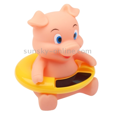 sunsky cute cartoon animal baby bath water thermometer temperature meter range 34 c 44 c. Black Bedroom Furniture Sets. Home Design Ideas