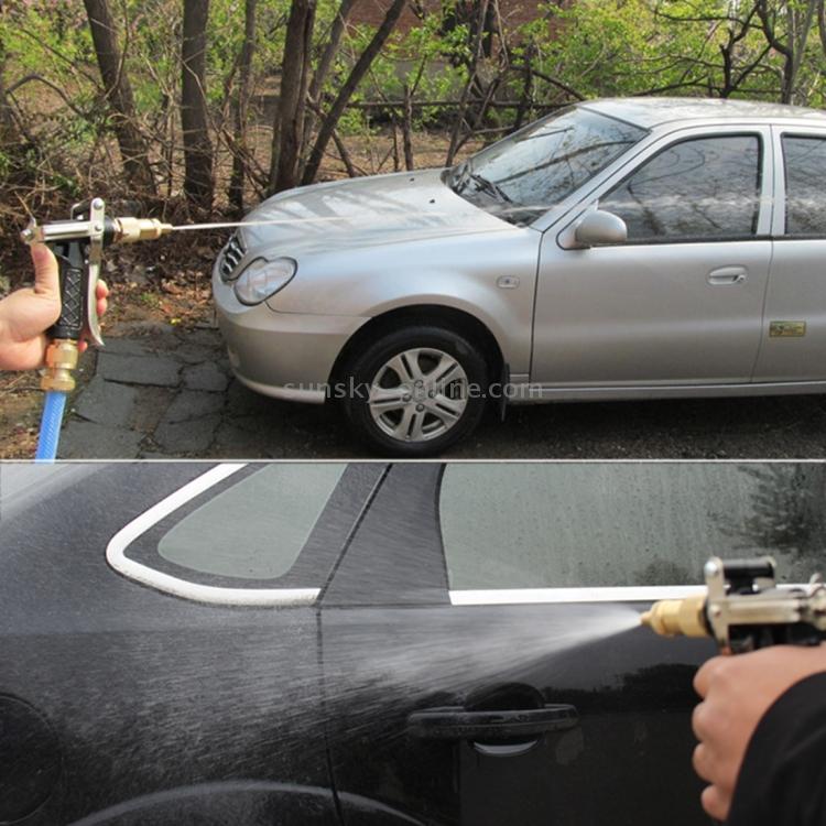 sunsky high pressure car washing water gun black. Black Bedroom Furniture Sets. Home Design Ideas