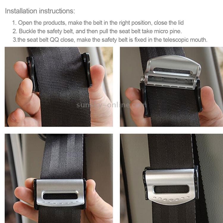10Pcs Universal Car Seat Belt Stopper Buckle Button Fastener Safety Part Clip